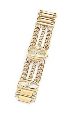 Ρολόι JUST CAVALLI Με Κίτρινο Χρυσό Μπρασελέ
