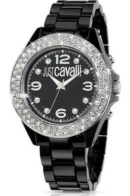 Ρολόι JUST CAVALLI Με Μαύρο Μπρασελέ