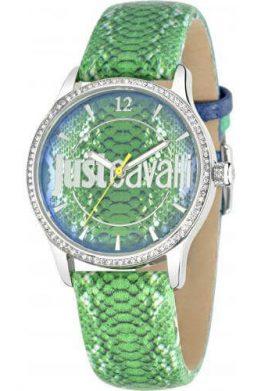 Ρολόι JUST CAVALLI Με Πράσινο Λουράκι Και Πράσινο Καντράν