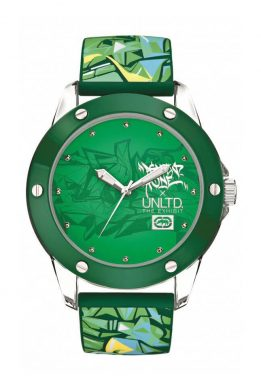 Ρολόι MARC ECKO The Tran Με Πράσινο Λουράκι