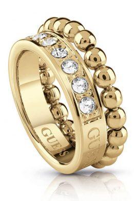 Δαχτυλίδι Guess Με Πετρές Σε Χρυσό Χρώμα