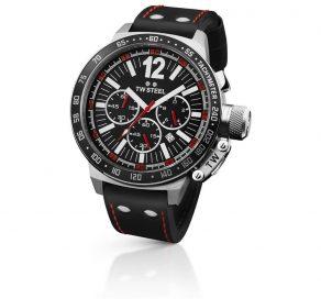 Ρολόι TW STEEL CEO Collection Με Μαύρο Λουράκι