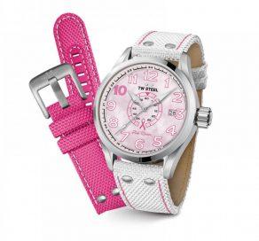 Ρολόι TW STEEL Παιδικό Για Κορίτσι Με Λευκό Λουράκι