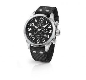 Ρολόι TW STEEL Volante Με Μαύρο Λουράκι Και Χρονογράφους