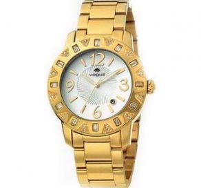 Ρολόι VOGUE White Με Χρυσό Μπρασελέ