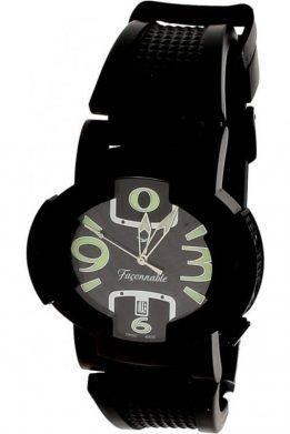 Ρολόι FACONNABLE Με Μαύρο Λουράκι