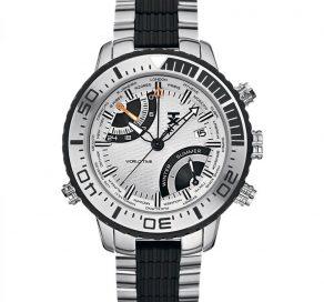 Ρολόι TX TECHNOLUXURY Με Δίχρωμο Μπρασελέ