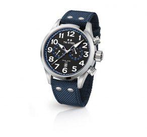 Ρολόι TW STEEL Volante Dual Time Με Μπλε Λουράκι