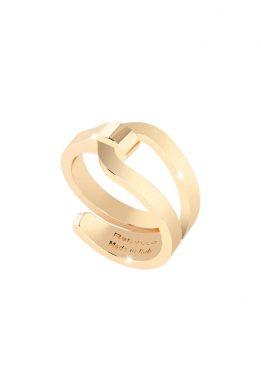 Δαχτυλίδι Rebecca Σε Χρυσό Χρώμα