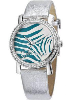 Ρολόι JUST CAVALLI Moon Silver Με Ασημί Λουράκι