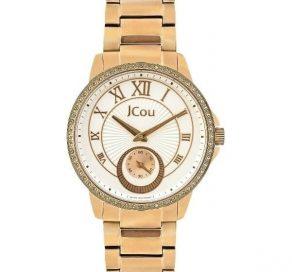 Ρολόι JCOU Royal Με Χρυσό Μπρασελέ
