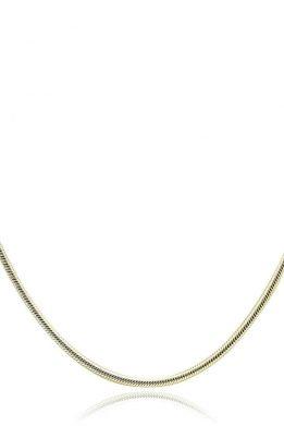 Ασημένια Snake Αλυσίδα Διπλής Όψεως Με Χρυσό Και Ασημένιο Χρώμα