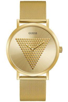 Ρολόι Guess Με Χρυσό Μπρασελέ Και Καντράν