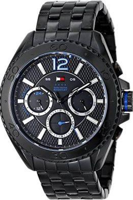 Ανδρικό Ρολόι Tommy Hilfiger Grant Με Μαύρο Μπρασελέ