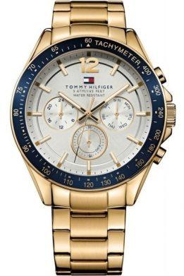 Ανδρικό Ρολόι Tommy Hilfiger Σε Χρυσό