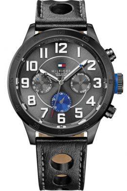 Ανδρικό Ρολόι Tommy Hilfiger Trent Με Μαύρο Λουράκι